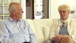 Klaus S. mit seiner Freundin Ursula. Foto: WDR