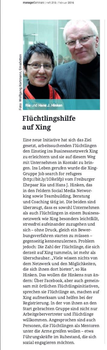 managerSeminare XING