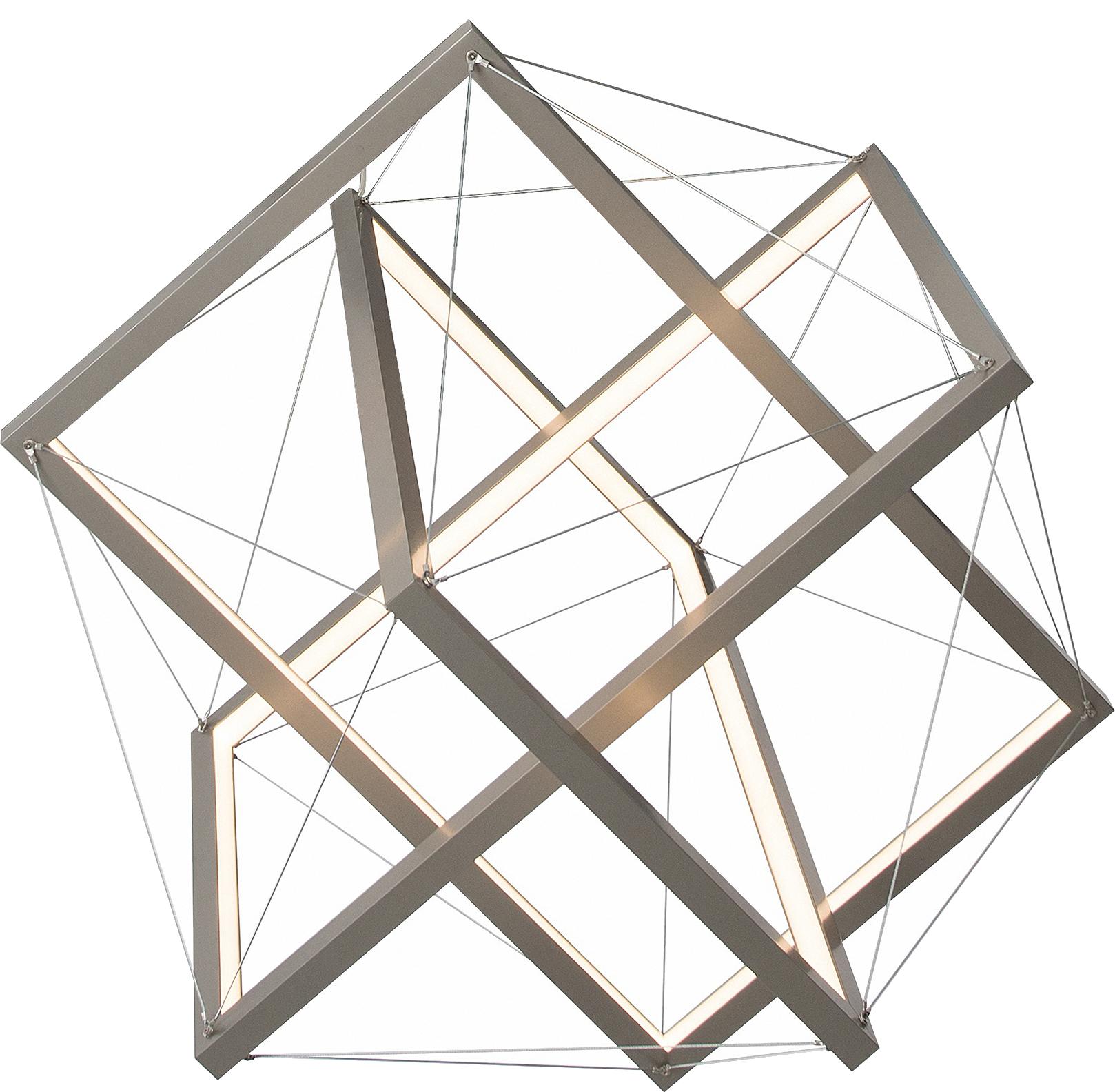 """14 Leuchte """"Goldener Schnitt"""", Lutz Koebele-Lipp, 2016 Mawa Design Die Gestalt der Leuchte """"Goldener Schnitt"""" leitet sich aus der geometrischen Form des Ikosaeders, dem """"Goldenen Rechtecke"""" eingeschrieben sind, ab. Die Bedeutung des Goldenen Schnitts als Regel für Harmonie rückt im Entwurfsprozess in den Hintergrund. Er ist nicht das kompositorische Werkzeug, sondern wird selbst zum gestaltgebenden Element."""