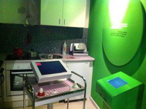 Küche mit Computer
