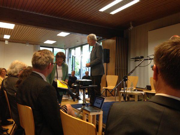 Vortrag von Henning Scherf in Freiburg