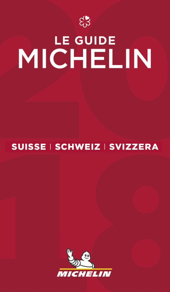 Cover Guide MICHELIN Schweiz 2018
