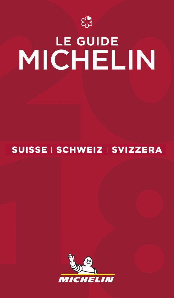 Cover Guide MICHELIN Schweiz 2018