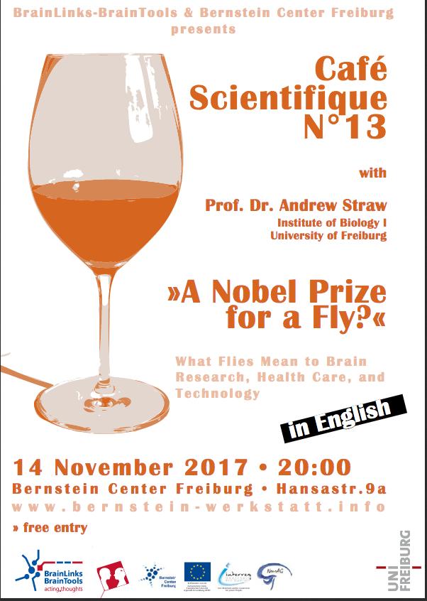 Plakat zur Veranstaltung 13. Café Scientifique