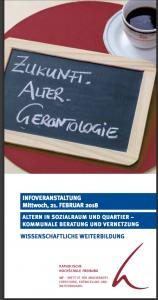 Flyer Infoveranstaltung katholische Hochschule Freiburg