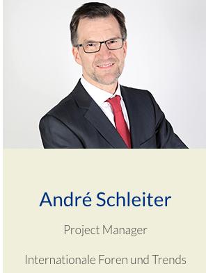 André Schleiter, Projektleitung