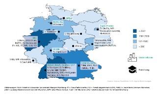 © Fraunhofer IAIS / Fraunhofer IMW Kompetenzlandkarte auf Basis wissenschaftlicher Publikationen, 2006 - 2015.