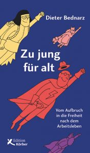 """Buchcover """"Zu jung für alt"""""""