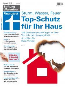 Finanztest Titelbild Ausgabe 12/2018