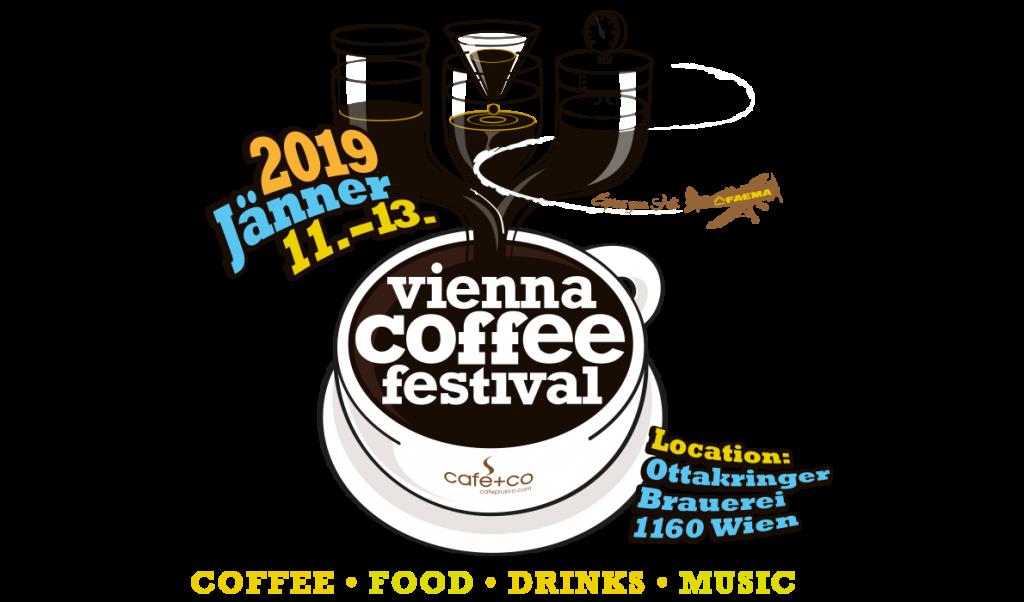 Logo des Vienna Coffee Festivals 2019