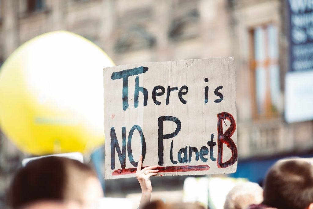 There is no planet B Foto von Markus Spiske temporausch.com von Pexels
