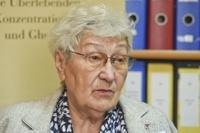 Foto: Zdzisława Włodarczyk, Zeitzeugin und Überlebende von Auschwitz-Birkenau