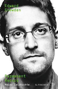 """Buchcover """"Permanent Record"""" von Edward Snowden"""