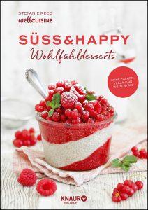 Buchcover von Süss und Hapyy - Wohlfühldesserts