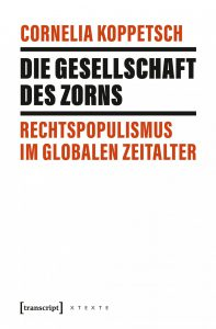 Buchcover Die Gesellschaft des Zorns von Cornelia Koppetsch