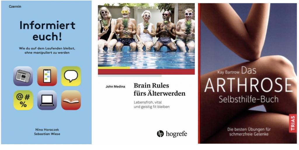 Buchcover von: Informiert euch! Brain Rules fürs Älterwerden, Arthrose