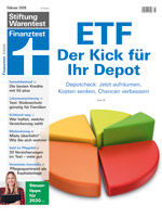 Titelbild Finanztest Ausgabe Februar 2020