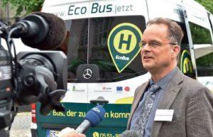 Stephan Herminghaus und die Idee des Ridesharings: Menschen teilen sich nicht ein Auto wie beim Carsharing, sondern eine Fahrt. © MPDS
