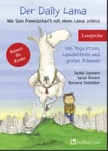"""Buchcover """"Der Daily Lama"""" - Wie Sam Freundschaft mit einem Lama schloss"""
