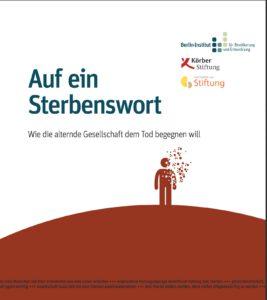 """Cover der Studie """"Auf ein Sterbenswort"""""""