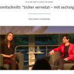 Sicher vernetzt SWR Talk mit Dinah Steinbrink udn Ria Hinken