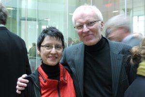 Ria und Hans Hinken bei einer Veranstaltung in Nordhorn