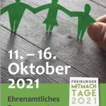 Titelbild des Flyers für die Freiburger Mitmach-Tage 2021